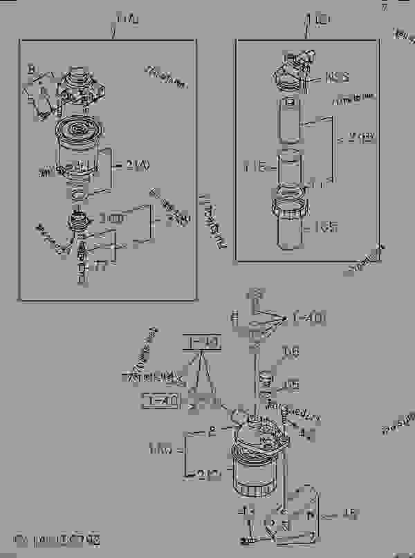 Isuzu 4le1 Fuel Filter C240 Fuel Filter ~ Elsavadorla