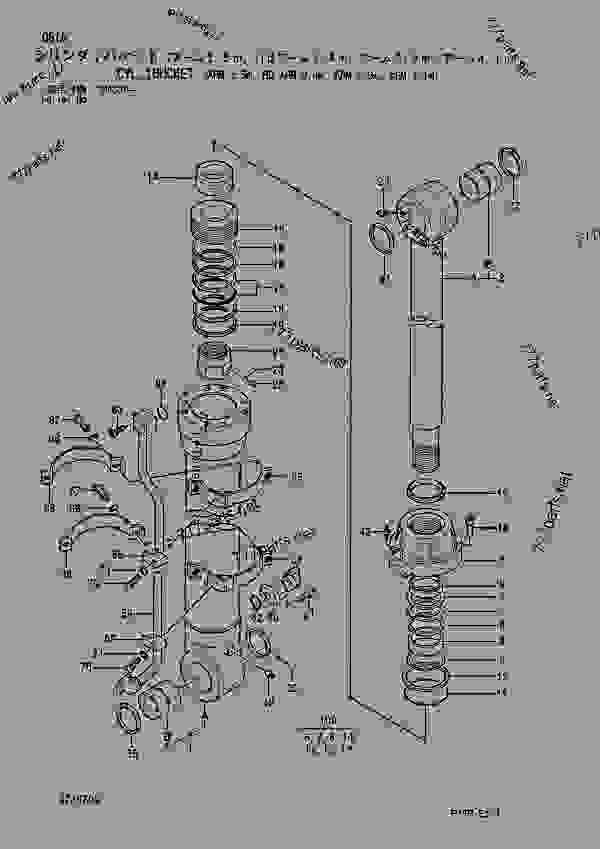 CYL.; BUCKET (ARM 3.5M, HD ARM 3.4M, ARM 2.9M, ARM 4.1M