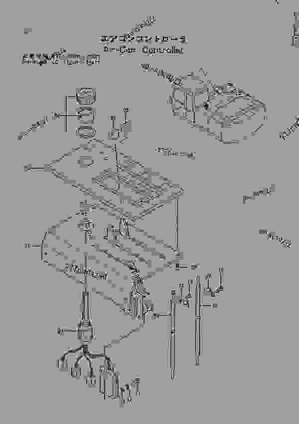 AIR CON. CONTROLLER SERIAL NO. STD:60001~73243 LC :60001