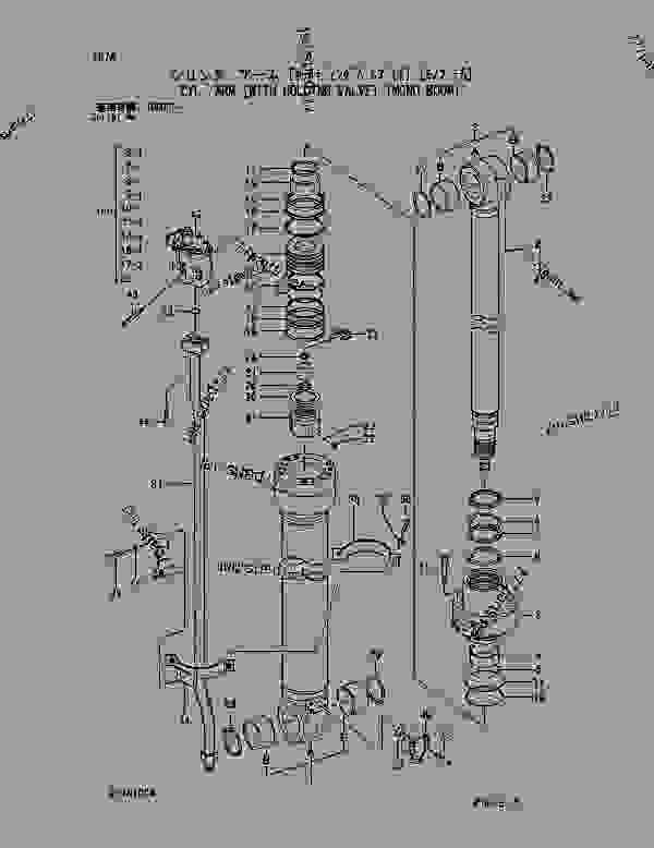 CYL.; ARM [WITH HOLDING VALVE] [MONO BOOM] SERIAL NO