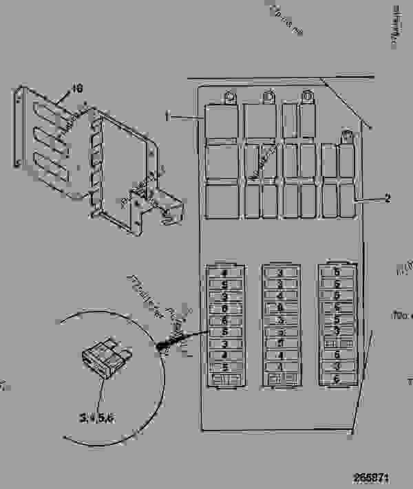 Jcb Fuse Box Diagram | Wiring Diagram Jcb Fuse Box Location on