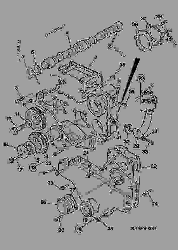 TIMING CASE, CAMSHAFT & GEARS, AA & AC BUILDS