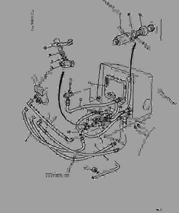 CIRCUIT, STEERING, 4WD, TURBO ENGINE, HYDRAULIC BREAKER