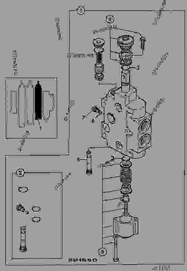 VALVE SECTION, AUXILIARY, LOADER VALVE, V.FLOW PUMP