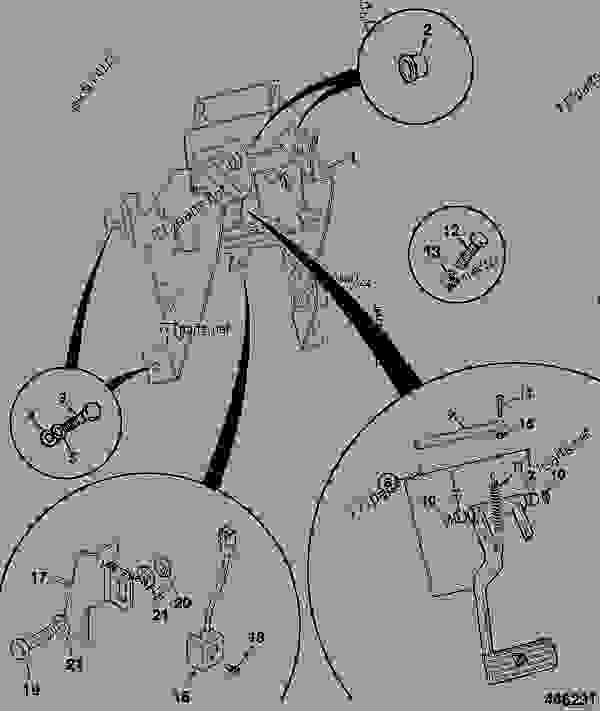 CONTROLS, SINGLE BRAKE PEDAL, WITH PROXIMITY SWITCH