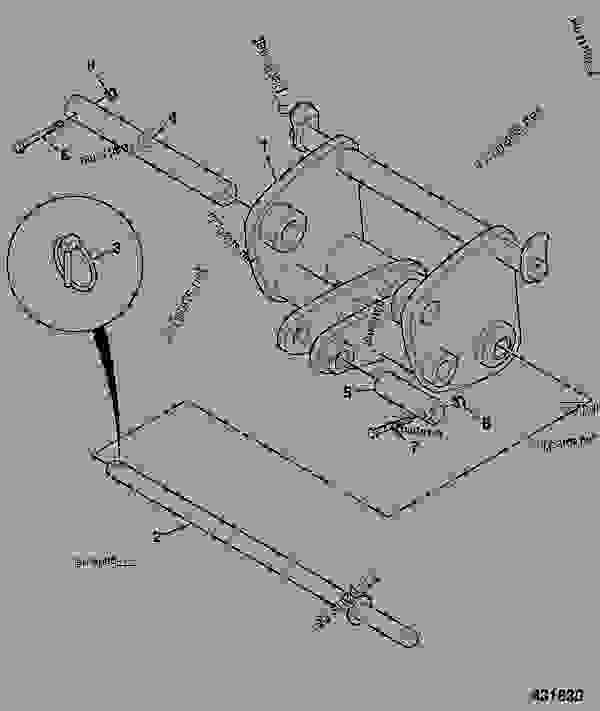 spinner motor wiring diagram for backhoe