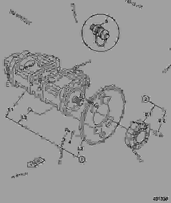 215/11278 Pump, assembly,complete, with mounting flange