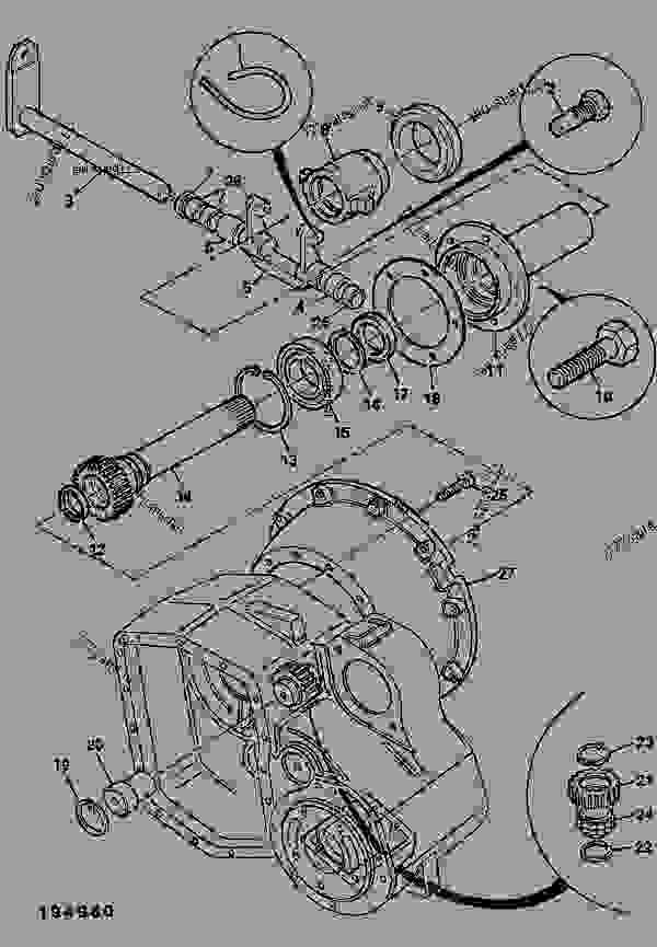 GEARBOX, SPLITTER & PTO, INPUT & CLUTCH RELEASE