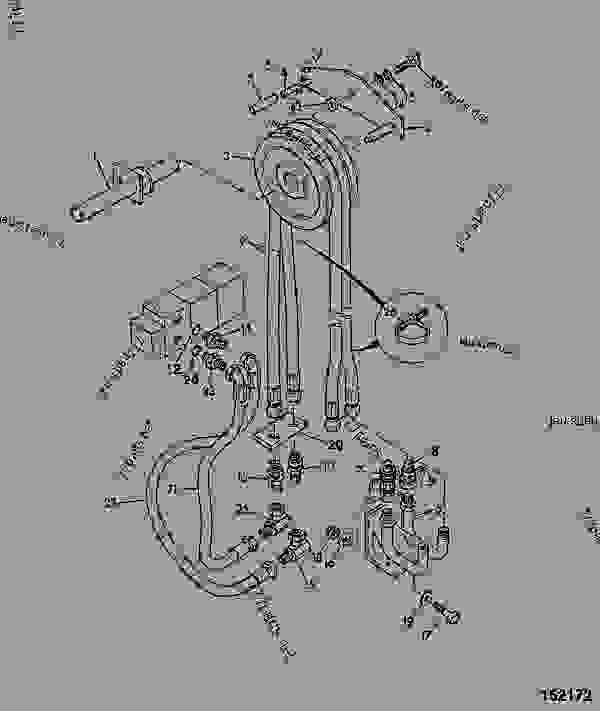 CIRCUIT, AUXILIARY, 3/4 SPOOL, 3.6M DUPLEX MAST