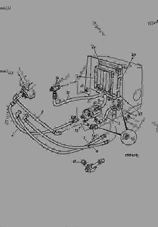 CIRCUIT, STEERING, 2WD, TURBO ENGINE, HYDRAULIC BREAKER