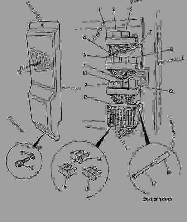 jcb 530 fuse box diagram