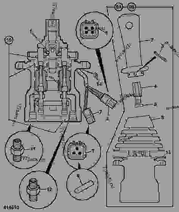 valve servo joystick control left hand