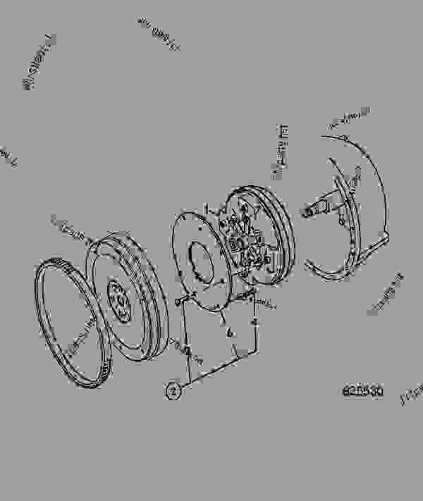 TORQUE CONVERTER, W300 3.01, RATIO DRIVE PLATE