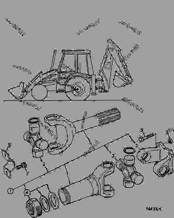 PROPSHAFT, TRANSMISSION, REAR DRIVE AXLE, MANUAL
