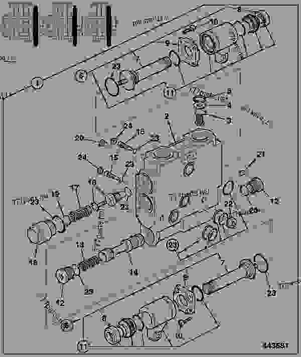 VALVE, SECTION, DRAFT CONTROL, ELECTRONIC, SOLENOID