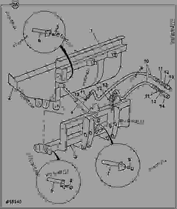 SHOVEL SIDE TIP LH, DIRECT MOUNT, 1950MM (6'4