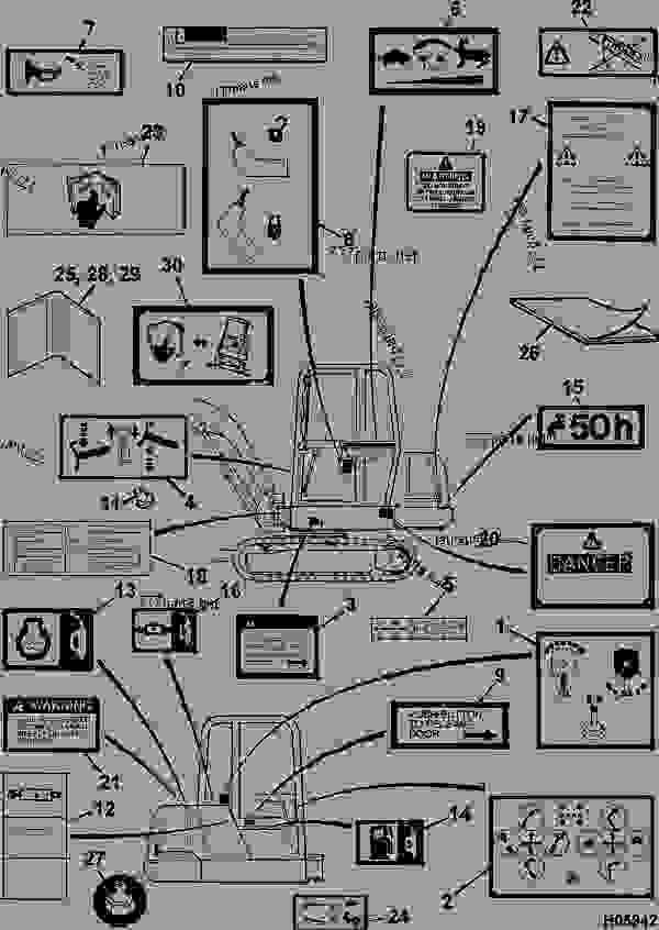 jcb 8014 fuse box diagram