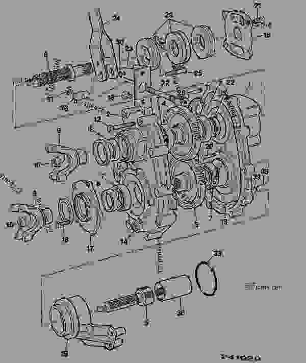 DROPBOX (526 & 520), J.C.B.PERMANENT 4WD, 1.545:1