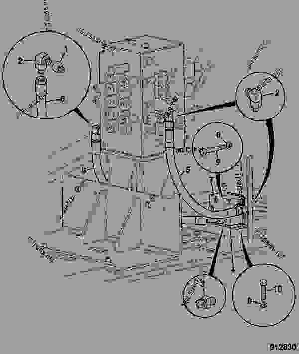CIRCUIT, COMBINED, HAMMER & AUXILIARY, MERGED VALVE