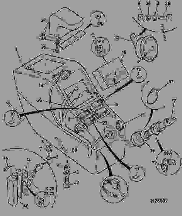 ELECTRICS, MAIN, CONSOLE RIGHT HAND, R/H Pod