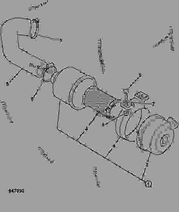 Fuel Filters Oil JCB Groundhog 4X4 Filter Service Kit Air