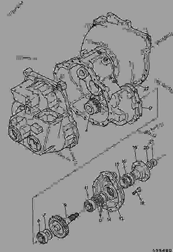 TRANSMISSION, JCB SYNCRO SHUTTLE, GERMAN PERMANENT 4WD