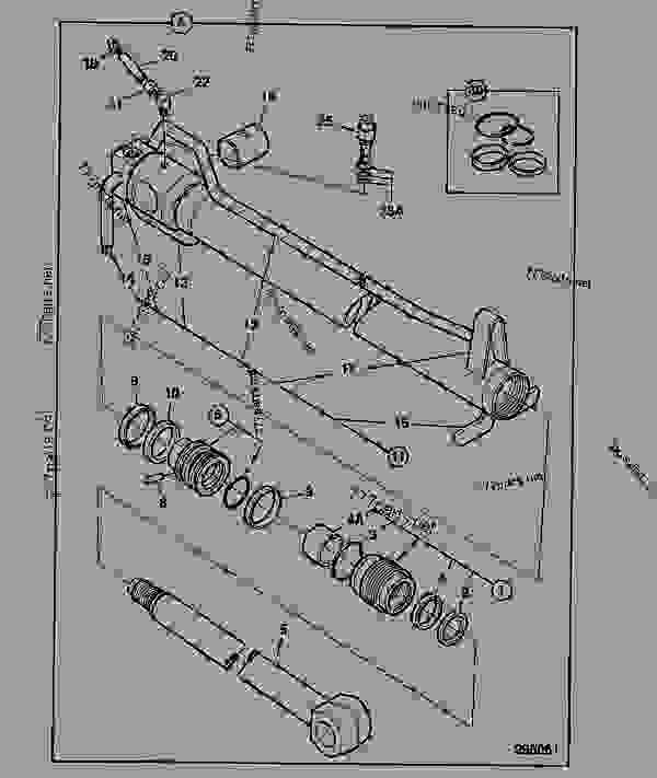 991/00105 Kit-seal, 70mm cyl x 50mm rod, Metric rams