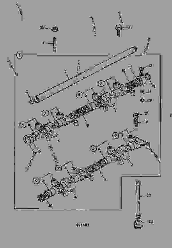 ROCKER ASSEMBLY, PUSH RODS & TAPPETS, AA BUILD