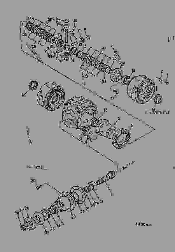 DIFFERENTIAL, COMPONENTS, LIMITED SLIP, HURTH AXLE