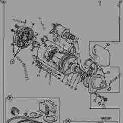 Wiring Diagram For Starter Solenoid 1963 Ford 2000 Tractor Motor, Starter, M127 12.volt - Construction Jcb 506b Loadall 506b, 9802/7700, M570000 ...