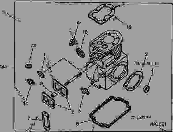 ENGINE GASKET AND SEAL KIT (KOHLER 8 HP (5.97 KW) MODEL