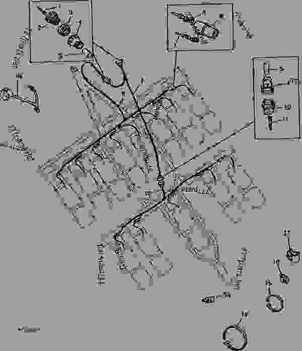 Wiring Harness / 8RN Split Row Planters-5R Skip/Computer