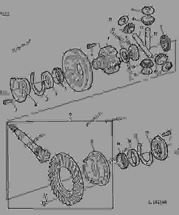 DIFFERENTIAL (WITH HEAVY-DUTY FINAL DRIVE) [03A22