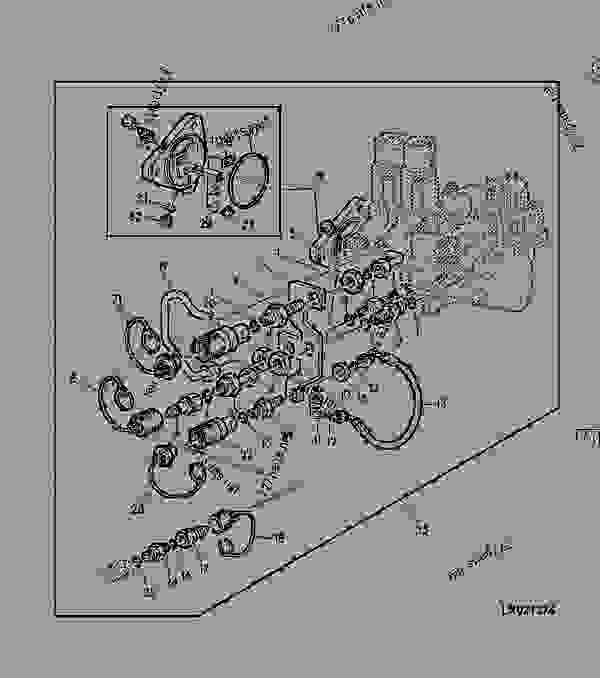 John Deere 300 Wiring Diagram. Engine. Wiring Diagram Images