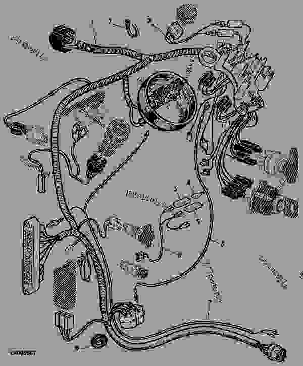 DASH PANEL WIRING HARNESS-MC1 AND CC2 CABS (BILUX) [14
