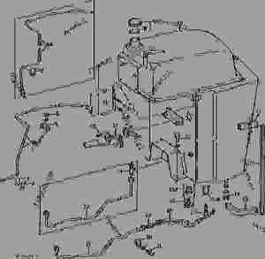 FUEL TANK AND FUEL LINES [01E03]  TRACTOR John Deere 4430