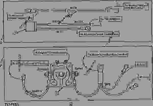 Jd 4020 24 Volt Wiring Diagram Ty16172 24 Volt To 12 Volt Start Charge Conversion Kit