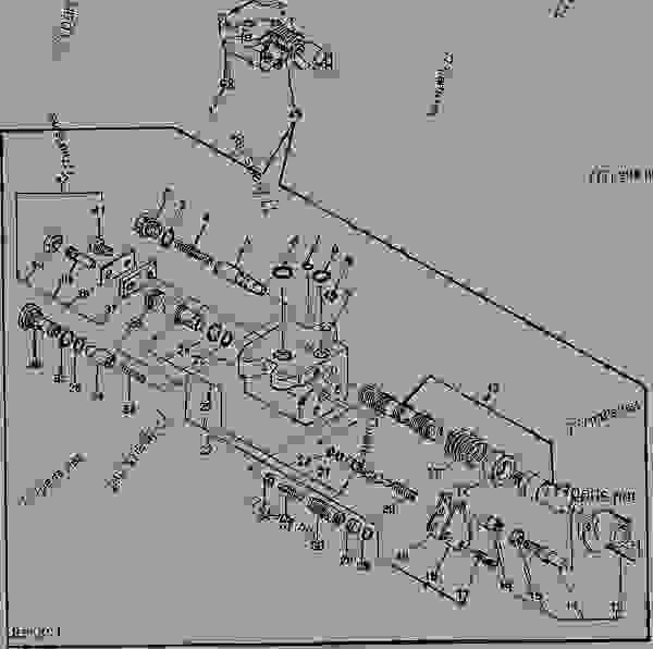 ROCKSHAFT CONTROL VALVE (870 DRAFT SENSING) (1070) [01I03