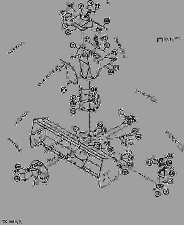 Snowblower Chute, Motor, And Actuator (Standard Flow