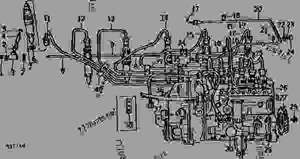 FUEL INJECTION PUMP, NOZZLES, AND FUEL LINES (ENGINE