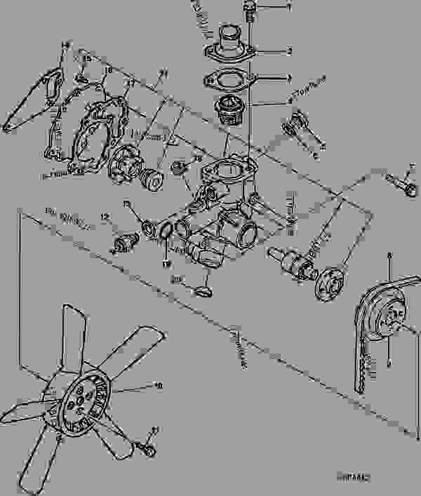 John Deere 2020 Wiring Diagram John Deere 2020 Parts