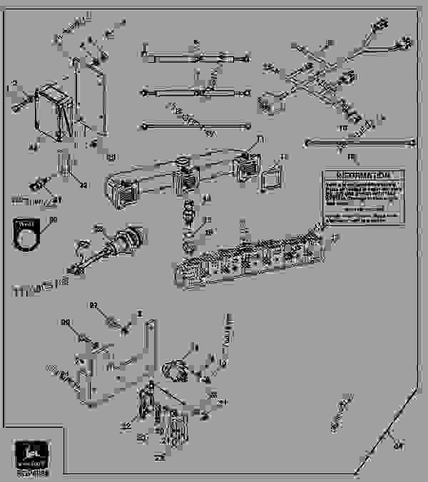 John Deere 830 Wiring Diagram John Deere 830