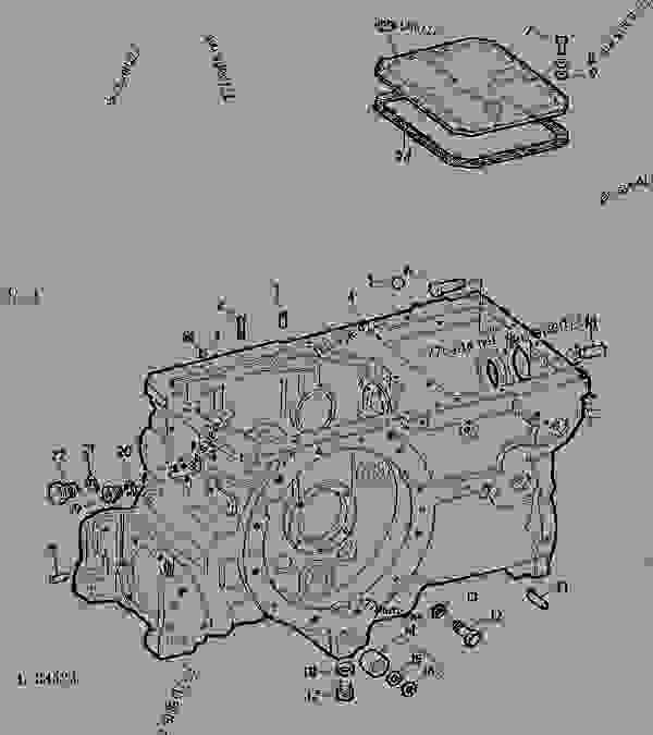 TRANSMISSION CASE (QUAD-RANGE/SYNCRO-RANGE) [02A23