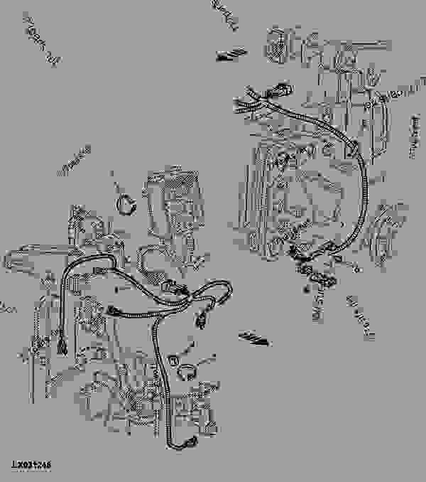 GRUPO DE CABLES TRANSMISION (PARTE TRAS.) [01E21