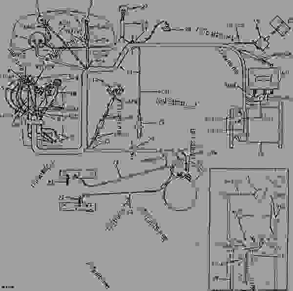 john deere 4020 wiring diagram fuel gauge