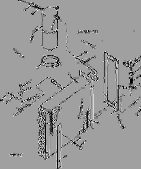 AIR QUALITY SYSTEM EVAPORATOR AND HEATER CORE, ACCUMULATOR