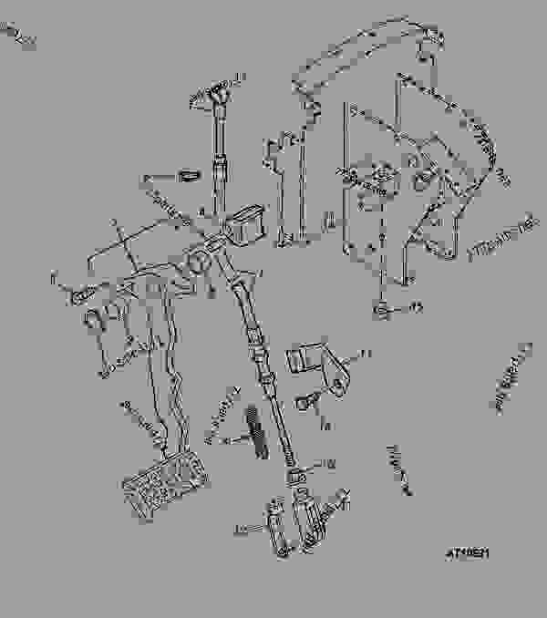 CLUTCH PEDAL AND LINKAGE (COLLAR SHIFT, TSS OR SYNCRONIZED