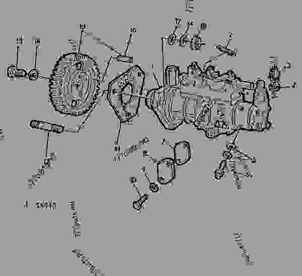 3116 Cat Engine Parts Diagram Ar91773 Fuel Injection Pump Ar91773 John Deere Spare