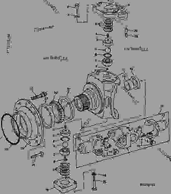 John Deere 4450 Wiring Diagram John Deere 4450 Tractor