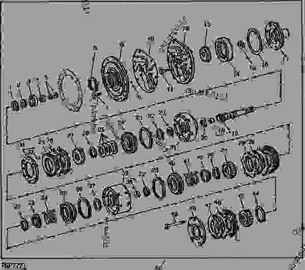 John Deere 4020 Drawbar Diagram. John. Tractor Engine And
